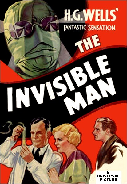 the invisible man hg wells essay