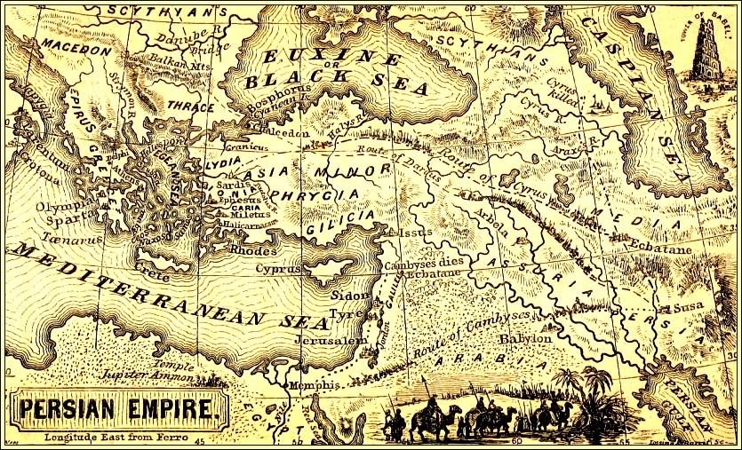 Persian Empire Darius Xerxes